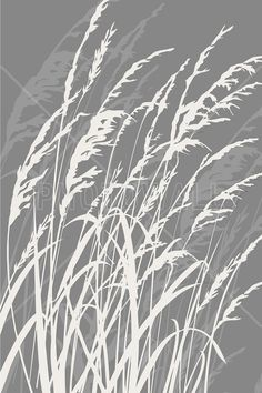 Grass - Light Grey – style with a canvas print Grey Fashion, Photo Wallpaper, Grey Walls, Modern Wall, Wall Murals, Tapestry, Canvas Prints, Nature, Guest Room