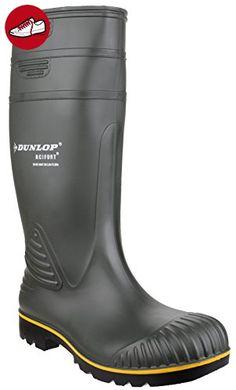 Dunlop B150613 Acifort Knie GROEN 41, Unisex-Erwachsene Halbschaft Gummistiefel, Grün (Grün (groen) 08), 41 EU