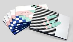 This lively notepad from creative firm RoAndCo features nine distinct…