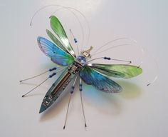The 'Through the Looking Glass' Bug by DewLeaf on Etsy
