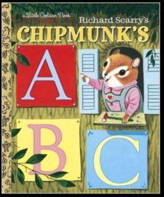 Chipmunk's ABC Little Golden book