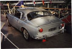MGB Berlinette by Jacques Coune Carrossier of Belgium c.1964-70   por andreboeni