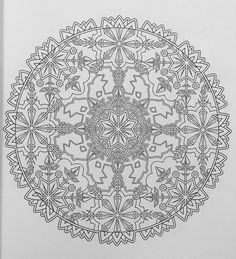 Creative Haven Snowflake Mandalas Coloring Book Books Marty Noble