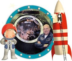 Knutseltips van Andre het astronautje. Tekeningen, zelfbouwpakketten bekijk het allemaal!