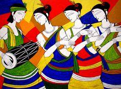 A beautiful artwork by Jiaur Rahman .