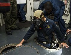 Cmdr. Kevin Kennedy ispects USS Gravely. | Flickr - Photo Sharing!