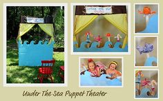 under the sea puppet theatre