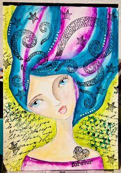 Andrea Gomoll ArtJournal Mixed Media Painting She Art