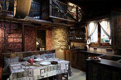 l'era de casa Mariola, a clever restoration of a XIX cent. house in Andorra. chicandrustic.blogspot.com.es