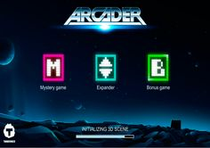 Arcader video slot from Thunderkick provides players with great nostalgic feeling. 5 reels and 15 paylines are filled with old fashioned arcade symbols. You can enjoy Wild Symbols, Sticky Wilds and Scatters during your game. And a Mystery Symbol round and Free Spins bonus round will make your game unforgettable.