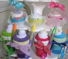 Sweet Baby Treats & Instructions: easy instructions for guests to make for mom during shower