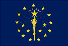 A new report details how green jobs in the clean energy and energy efficiency fields have grown in Indiana despite pushback from its coal-friendly governor. Blue And Yellow Flag, Palau Flag, Us States Flags, 50 States, United States, Indiana State Flag, County Flags, States In America, America America