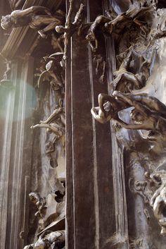 AUGUSTE RODIN. La Porte de l'Enfer
