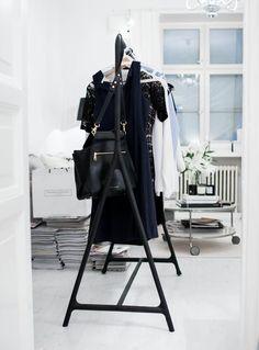 clothing rack | living room | scandinavian
