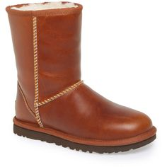 Best UGG Australia Womens Classic Short Leather Water-Resistant Snow Boots for Cyber Monday deals 2015 at Nordstrom