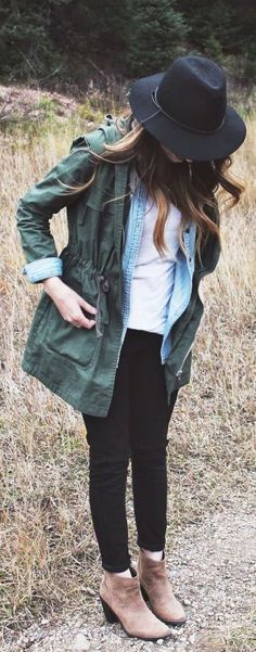 casual hipster look