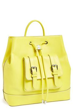 Vince Camuto 'Tilly' Leather Backpack available at #Nordstrom