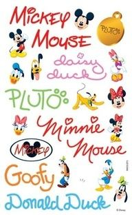 autographs of disney characters   Found on images.search.yahoo.com