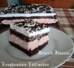 ❤️ My Recipes, Sweet Recipes, Cookie Recipes, Dessert Recipes, Hungarian Desserts, Hungarian Recipes, Hungarian Food, Eastern European Recipes, European Cuisine