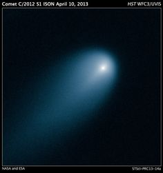 Il Telescopio Spaziale Hubble cattura la Cometa ISON – Hubble Captures Comet ISON