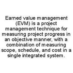 Earned Value Management  Project Management    Project