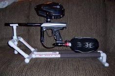 Custom PVC Gun Stand.... 56k Beware - Spyder Forums