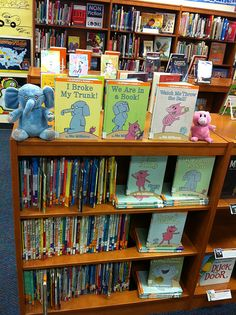 Great ideas for library displays, organization and decor.