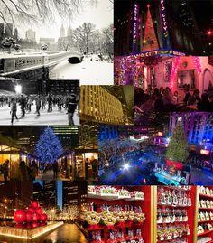 Christmas in New York Moodboard