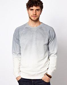Esprit Sweatshirt With Dip Dye