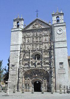 Fachada de la iglesia de San Pablo, Valladolid
