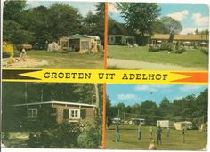 Oude ansichkaart van Adelhof in Vledder