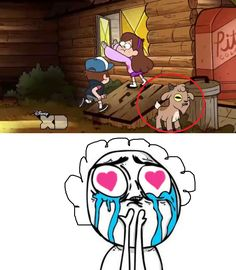 Finally someone recognized my feels for baby gompers Gravity Falls Funny, Gravity Falls Fan Art, Gravity Falls Comics, Gravity Falls Secrets, Gavity Falls, Fall Memes, Desenhos Gravity Falls, Reverse Falls, Disney Shows