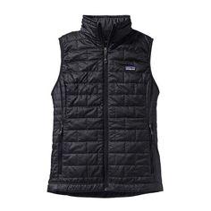 Patagonia Women's Nano Puff Vest 84246 Black