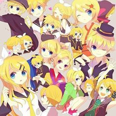 Can never have enough of me and Len! ~Rin