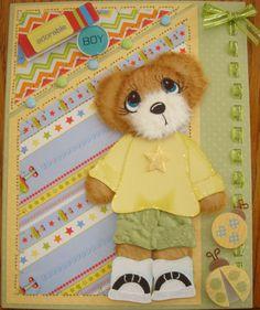 2012 Challenge 7 - Yellow - tear bear card
