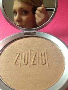 Zuzu bronzer from Gabriel Cosmetics #review #makeup