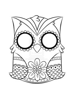 Printable Owl Picture