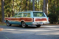 1966 Ford Country Squire Station Wagon.