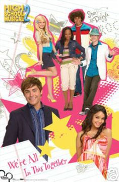 High School Musical 2 Movie Poster I freakin had this poster OMG!