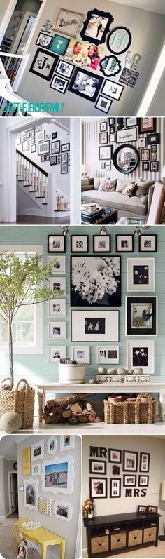 different style frame ideas