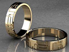 alianzas de boda oro amarillo