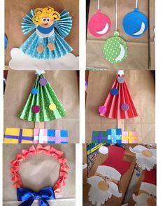 Que tal inovar nas embalagens dos presentes??? http://www.materniarte.com.br/2015/12/sacolas-decoradas-tema-natalino/ #materniarte
