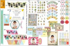 Peter Rabbit Birthday party Printed pack Beatrix Potter by JPEGgen, $200.00