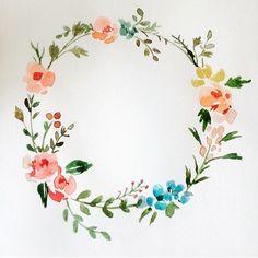 "From heyydotpark on Instagram ""#heyydotpark #heyy #illust #illustration #flowers #watercolor #drawing #artstagram #instaart #손그림 #일러스트 #수채화 #꽃 #인스타아트 #삽화 #카드 #웨딩 #인비테이션 #헤이닷 #weddingcard #rsvp"""
