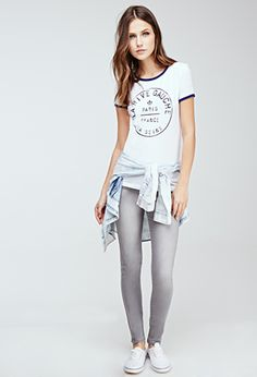 Mid-Rise Skinny Jeans | FOREVER21 - 2000102943