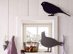 Lustige Vögel - Basteln für mehr Gemütlichkeit 8 - [LIVING AT HOME]