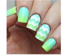 Neonowy manicure ombre - super pomysły na kolorowe paznokcie - Strona 7