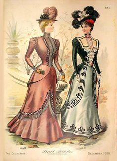 Victorian Fashion Plate by DarKaso, via Flickr