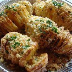 Receita de Batata hasselback (batata laminada) |
