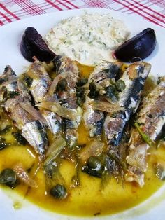 Seafood Recipes, Wine Recipes, Cooking Recipes, Healthy Recipes, Greek Recipes, Light Recipes, Greek Meze, Cyprus Food, Greek Cooking